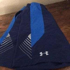 Other - Under Armor Youth Large navy shorts